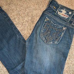 MEK Denim Light wash jeans!